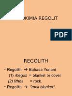 Regolith Uho