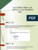 Instrucciones Para Los Aspirantes a Las Pruebas Url (1)