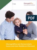 ElterngeldPlus Mit Partnerschaftsbon