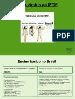 Dados sobre educação brasileira e escolas da rede federal