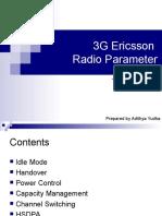 3 G Radio Parameter Ericsson