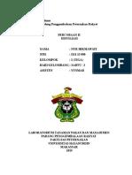 laporan 2 defoliasi