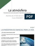 Presentación Global sobre la Atmósfera