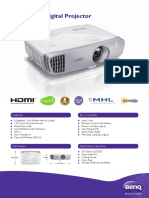 BenQ W1110 1080p Full HD 3D Wireless DLP Home Theatre Projector