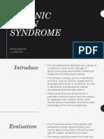 Jourding - Organic Brain Syndrome