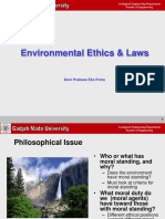 Course_3_Environmental Ethics Amd Laws