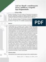 Psicologia Social No Brasil_consideraçoes Epistemologicas e Politicas