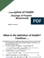 Discipline of Hadith-Powerpoint Presentation2