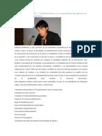 BEATRIZ PRECIADO - Transfeminismo y Micropolíticas Del Género en La Era Farmacopornográfica