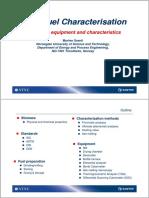Solid Fuel Characteristics
