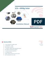 12KW DCG+6KW Solar (Installation Manual)