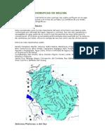Hidrografia Bolivia