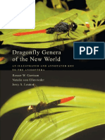 Odonata Dragonfly Genera of the New World an Illustrated and Annotated Key to the Anisoptera