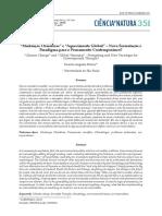 """""""Mudanças Climáticas"""" e """"Aquecimento Global"""" – Nova Formatação e Paradigma Para o Pensamento Contemporâneo"""