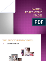 Fashion Forecasting Stages