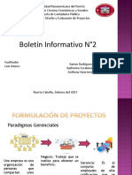 Boletin Informativo N°2