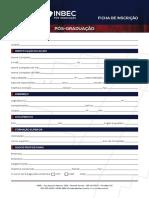 Inbec - Ficha Inscrição Unip - Formulário