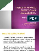 Trend in Supply Chain.F.merchandising.ranjan
