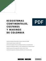 Ecosistemas Continentales Costeros y Marinos