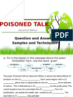 Poisoned Talk Quiz Show