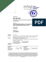 Reporte LM 79