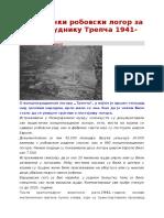 Nacisticki Robovski Logor Za Srbe u Rudnik Utrepca 1941