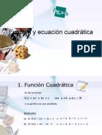 Funciones y Ecuaciones Cuadráticas