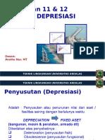 Analisis Depresiasi