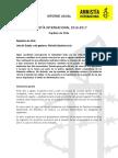 Informe Anual Capítulo de Chile
