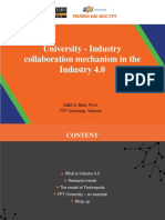 University Industry Collaboration Mechanism in the Industry 4.0