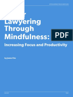 Better Lawyering Through Mindfulness