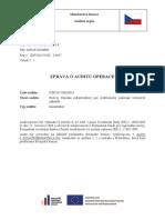 Zpráva o auditu na MMR