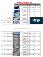SOCKS Product Catalogue Update