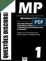 Ministerio Publico - Questoes Discursivas - Volume 1