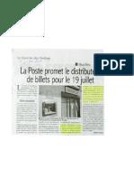 Article 7 Juillet Sur La Poste JJ Rousseau Houilles