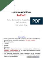 Química Analítica Sesion 2.