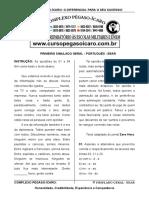 Simulado Geral - Abril 2015 - EEAR 1-2