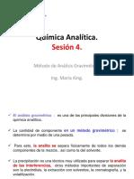 Química Analítica. SESION 4.