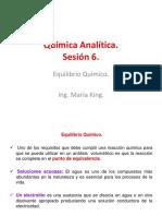 Química Analítica Sesion 6