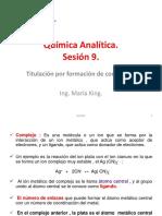 Química Analítica Sesion 9