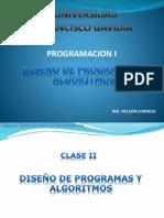 Diseno de Programas y Algoritmos(1)