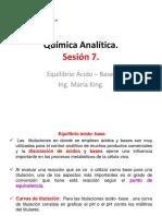 Química Analítica SESION 7.