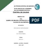 EJEMPLO DE MEJORA CONTINUA DEL SISTEMA DE GESTION DE CALIDAD + ARIAS GALVEZ VICENTE