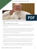 Papa Francisco Da Su Apoyo Publico a La Implantación Del Microchip RFID – ElimLaRadio