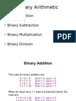 Lec2 Binary Arithmetic