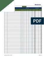 Medições - Medições Com Totais Automáticos