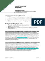 ENC1102Project3LitReviewPossibleOutline&Model