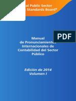 Ipsasb Manual de Pronunciamientos Internacionales de Contabilidad Del Sector Publico 2014 Volume 1