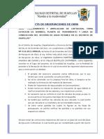 01 Acta de Observaciones-plantas de Tratamiento de y Linea de Conduccion