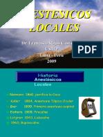 Anestesicos Locales 2009